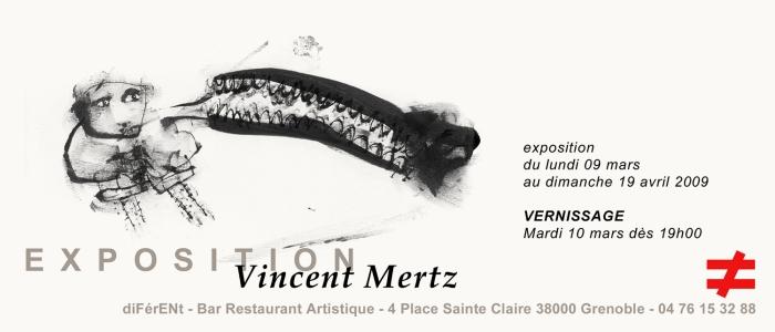 Exposition Vincent Mertz au diFéreNT