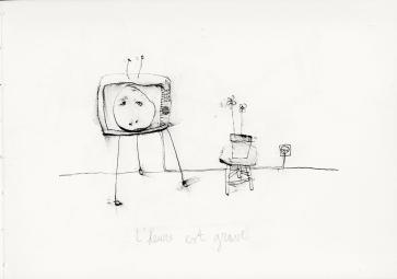télé-vision